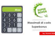 Massimali di costo Superbonus 110% - Ecobonus e computo metrico