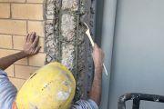 TRATTAMENTO CORROSIONE FERRI di armatura arrugginiti e ossidati - cemento armato - Costi convertitore passivante