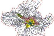 Zone omogenee urbanistiche: A,b,c,d,e,f